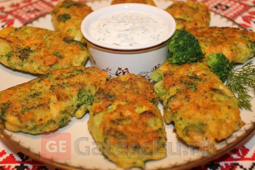 Chiftelute cu broccoli