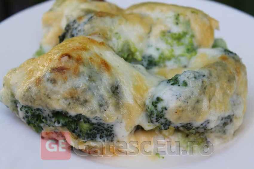 Broccoli gratinat