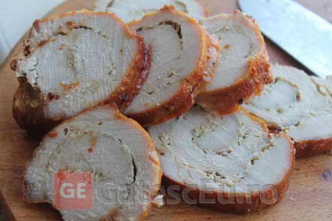Rulada – friptura din carne de porc