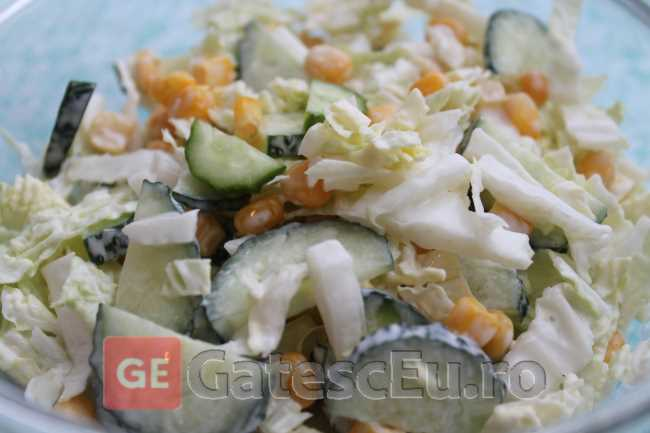 Salata cu varza chinezeasca