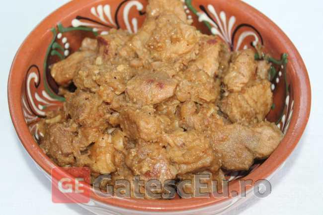 Friptura de porc (Tochitura)